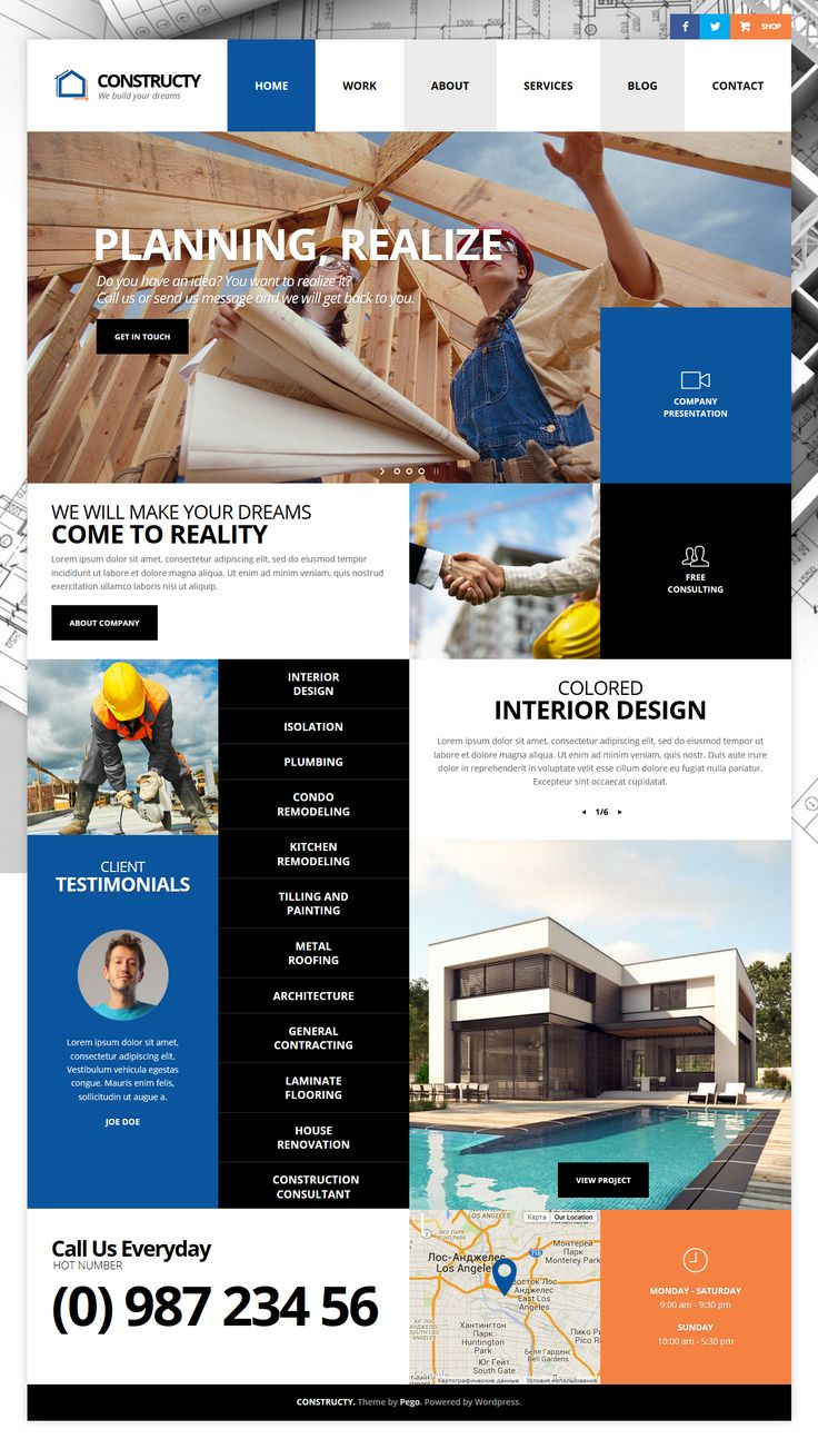 Constructy - Construction Business Building WordPress Theme #webdesign #web Live Preview and Download: http://themeforest.net/item/constructy-construction-business-building-theme/10927998?ref=ksioks