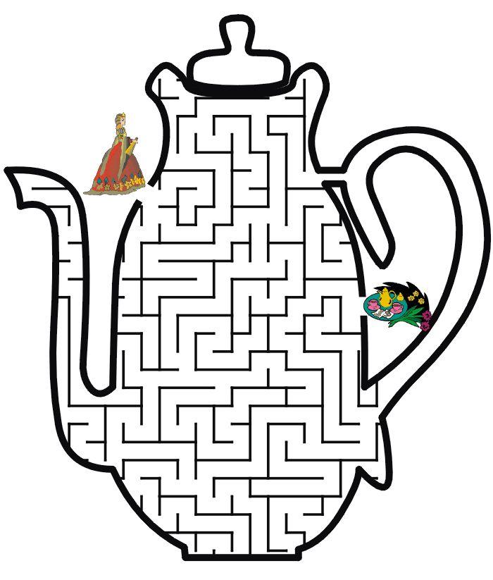 Princess Maze - Tea time for Princess
