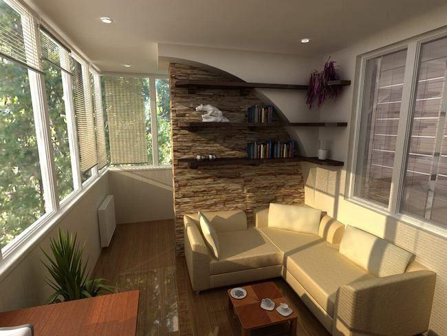 большая и уютная гостиная
