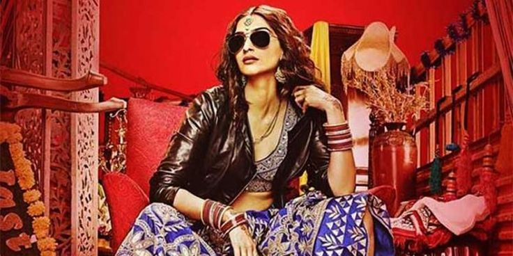 Sonam Kapoor sets the trend with this upcoming movie 'Dolly Ki Doli'. She shows how to pair the lehenga in a very cool fashion.