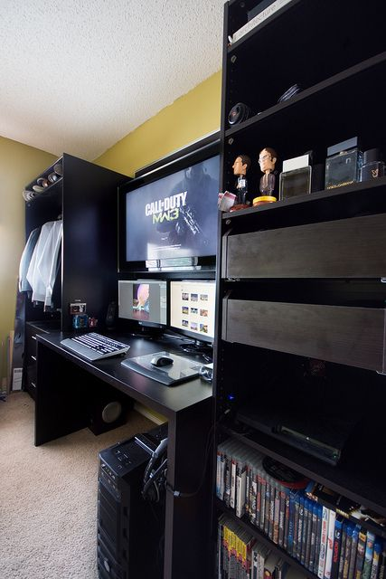 Great gaming room
