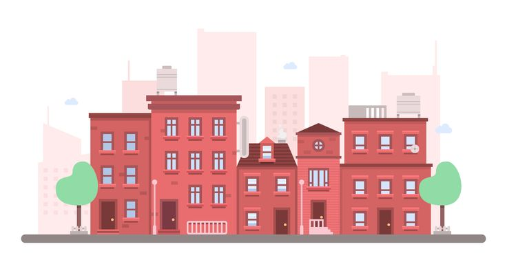 How to create a warm cityscape using some simple tools such as the Rectangle Tool and Pathfinder from Adobe Illustrator.