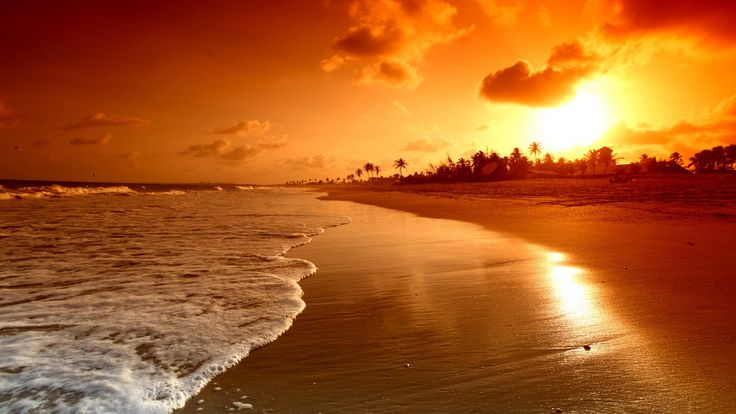 Beautiful Beach Good Evening Image imagefully. Download Beautiful Beach Good Evening Image images, photos, picture for free