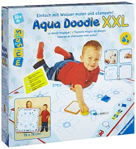 Ravensburger ministeps 04597 - Aqua doodle - Tappeto magico da disegno ...