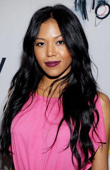 Amerie,half Korean half Black.  Recording artist, record producer, and actress