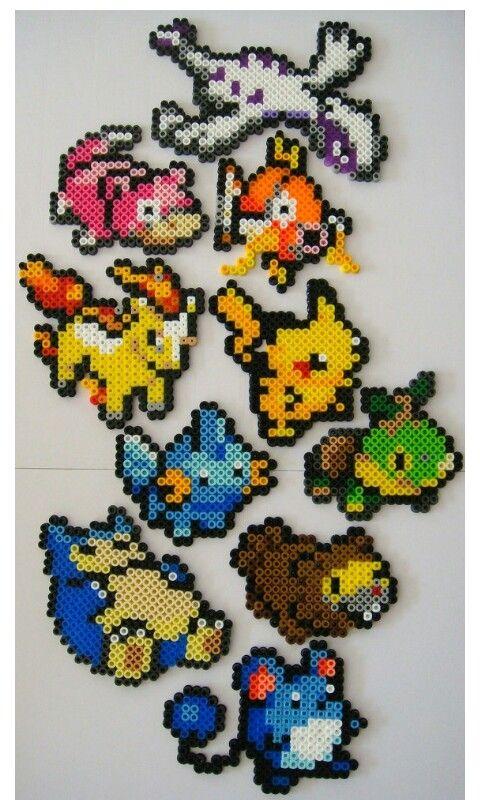 Pokemon hama beads