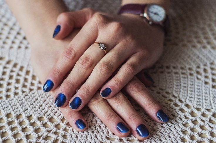 NeoNail ragamuffin cat eye hybrid nails short