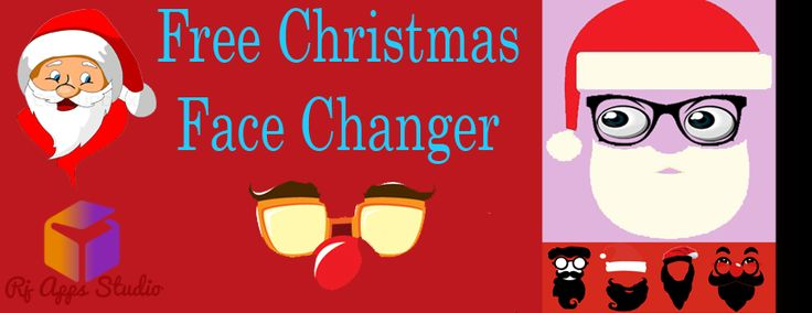 #AndroidApp #Free #Christmas #FaceChanger app is unique & very easy to use. So just come here & start making funny faces to spend your time with your #Friends.