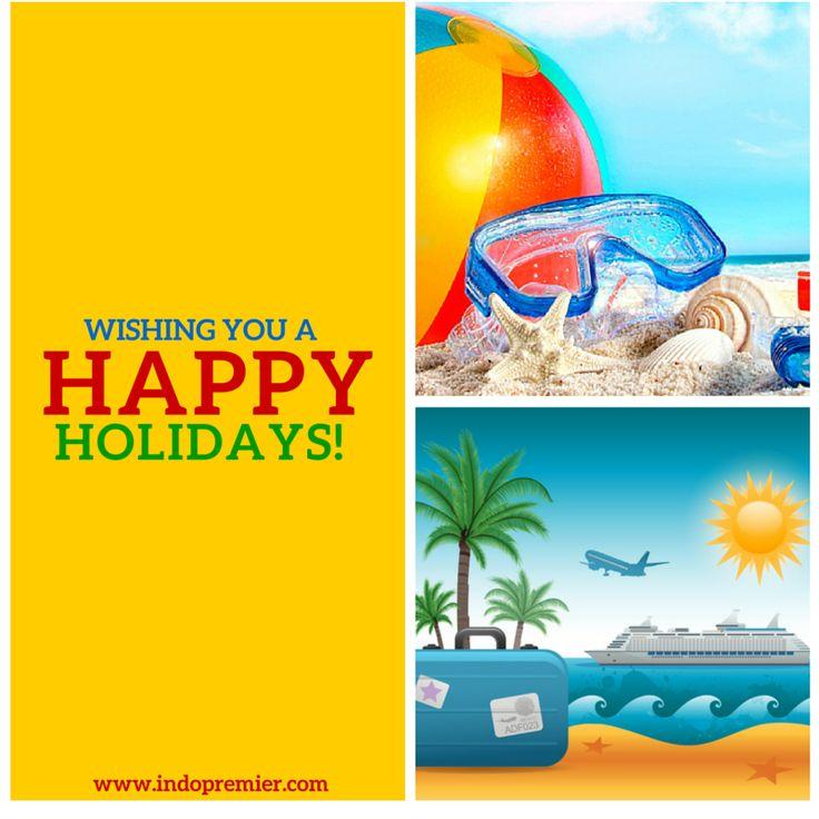 "Jelang libur akhir tahun, Bursa tutup tgl 31 Desember 2015 dan Bursa dibuka kembali pada tanggal 4 Januari 2016.  Wishing you a ""Happy Holidays""   #indopremier #ipot"