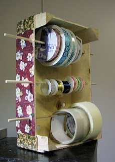 Clementine crate ribbon holder