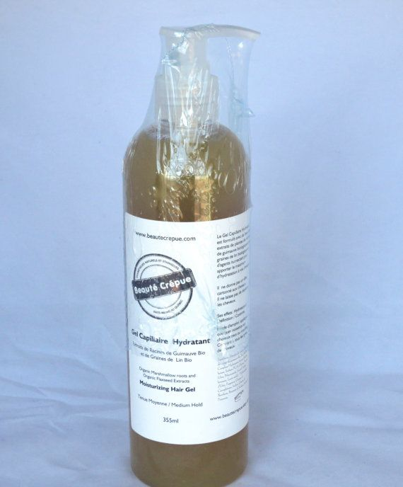 Organic Marshmallow roots & Flaxseed Extracts Hair by BeauteCrepue