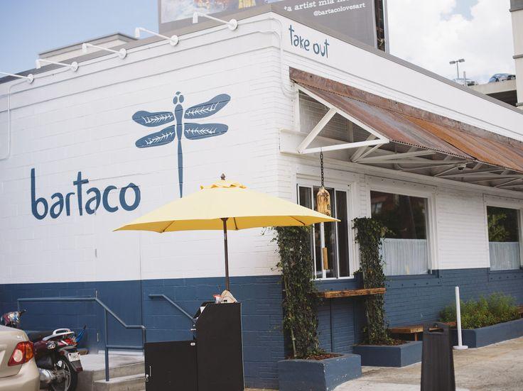 Bartaco - Atlanta - Zagat 10 best new bars - great patio - parking valet only - 969 Marietta St. (Howell Mill / Ga Tech)