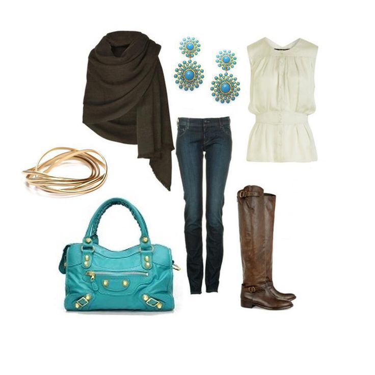Love turquoise!Colors Combos, First Jewelry Design, Fashion, First Jewelry Designs, Style, Bracelets, Clothing, Dahlias Earrings, Premier Jewelry