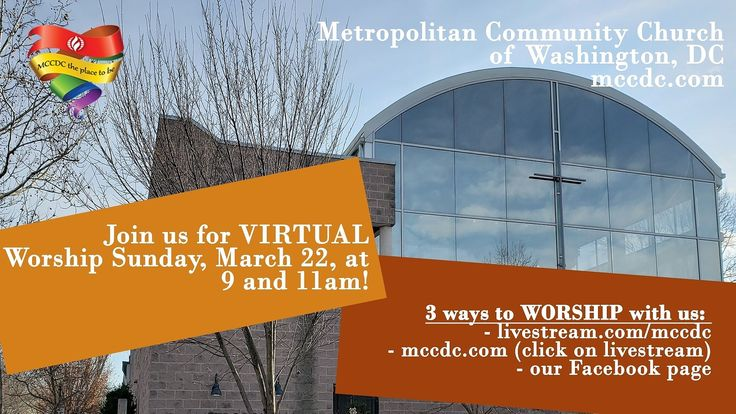 Join us in VIRTUAL WORSHIP at 9 and 11 a.m. TODAY! https