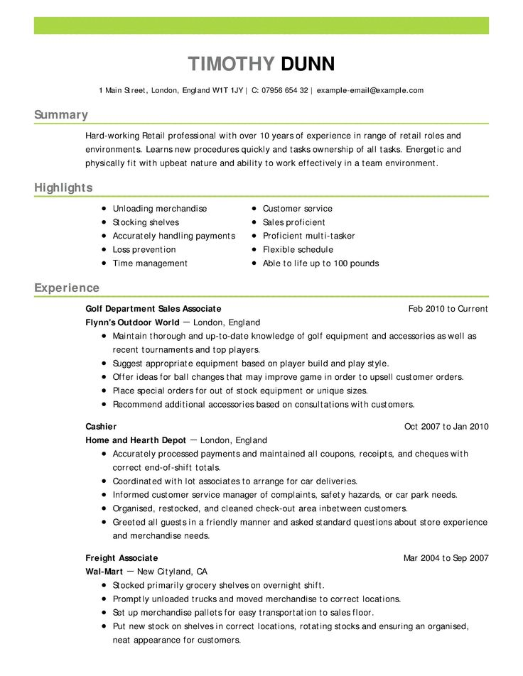Retail assistant Manager Resume Awesome Retail Sales