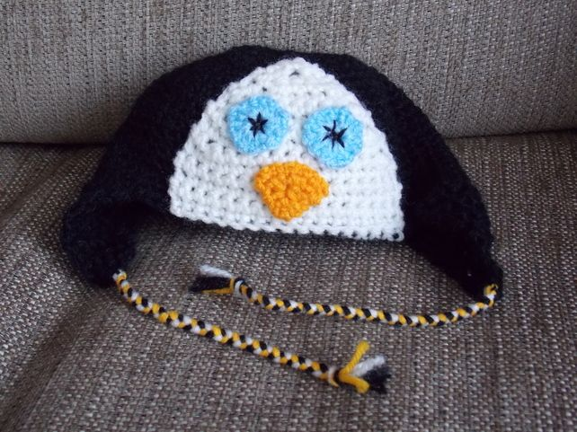 Cute Penguin Hat for Baby £6.00