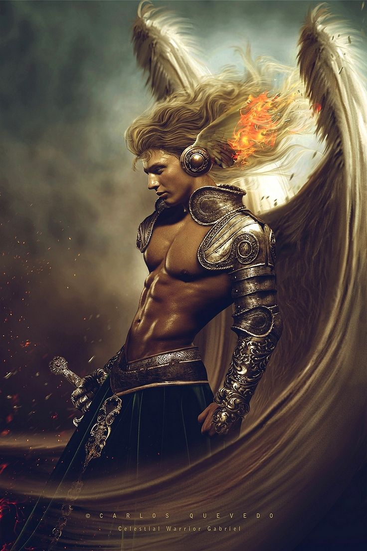 CARLOS QUEVEDO - Celestial Warrior Gabriel http://carlos-quevedo.deviantart.com: