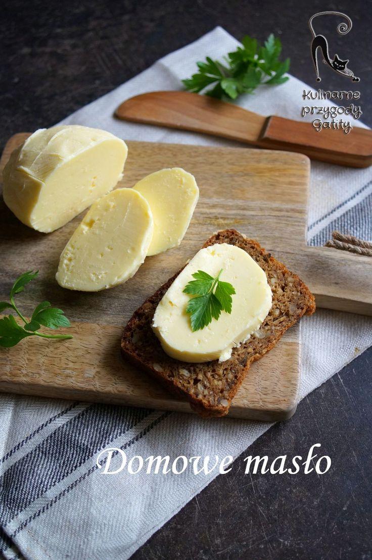 Kulinarne przygody Gatity - przepisy pełne smaku: Domowe masło - jak je zrobić ?