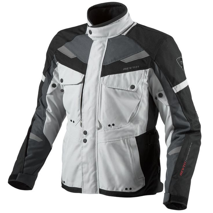 Rev'It Safari Motorcycle Jacket  Description: The Rev It Safari Touring Motorbike Jackets are packed       with features…              PROTECTION FEATURES:               OUTER SHELL                      Polyester 600D – Polyester fabric is a mainstay of REV'IT!         garments, providing the stylish silhouette...  http://bikesdirect.org.uk/revit-safari-motorcycle-jacket-18/