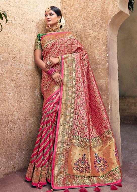 d8990b10df7  ethnicwear  ethnicstyle  indianstyle  partywear  bollywood  silksaree   designersaree  benarasisaree
