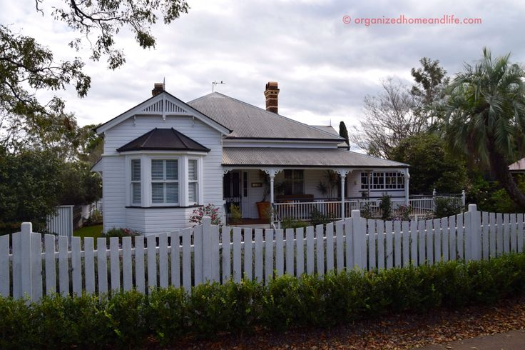 A beautiful Queenslander home in Toowoomba.
