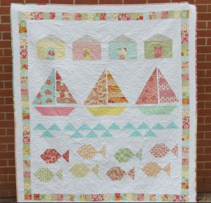 It is Summer in New Zealand right now, but lets look forward to when a quilt will be the perfect thing on a cool Autumn evening! These Quilts scream summer and will carry that lazy summer feeling over on any chilly day :)