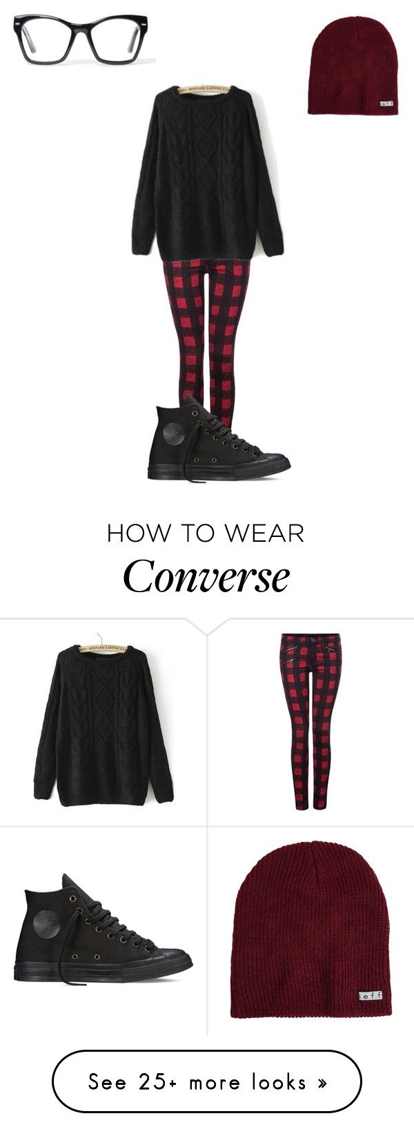 """Untitled #137"" by kyleruniverse on Polyvore featuring Dex, Neff, Converse, Spitfire, women's clothing, women's fashion, women, female, woman and misses"