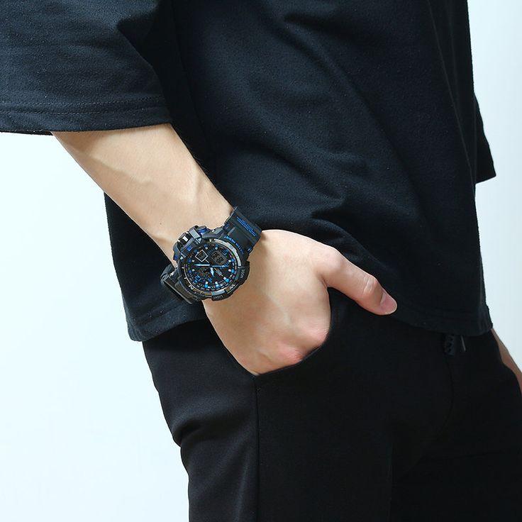 SMAEL Charming Sport Multifunctional Electronic Luminous Week Watch  #women #men #fashion #jewelry #watches