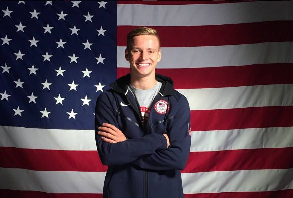 This is your boyfriend, Steele Johnson. | LOL, A Guy Named Steele Johnson Is Competing In The Olympics
