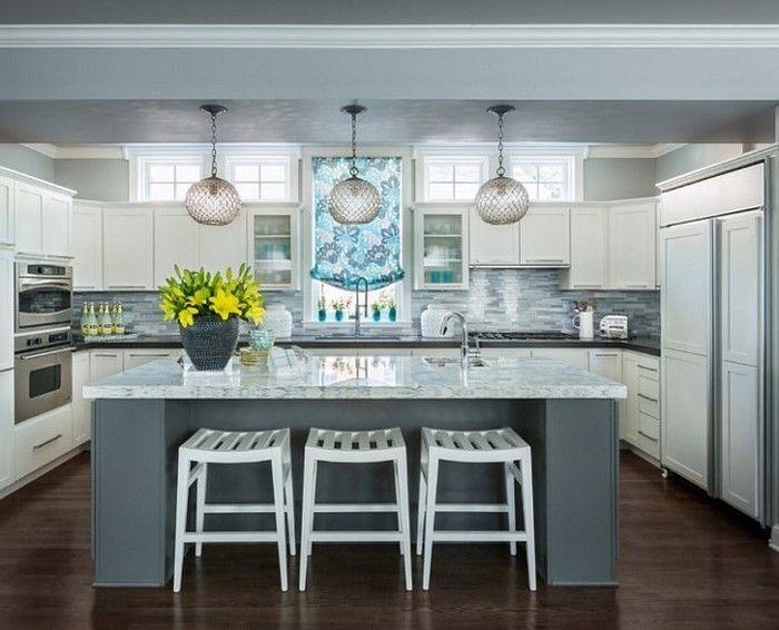 Die besten 25+ Deko küche grau Ideen auf Pinterest Graue - wohnzimmer grau gelb