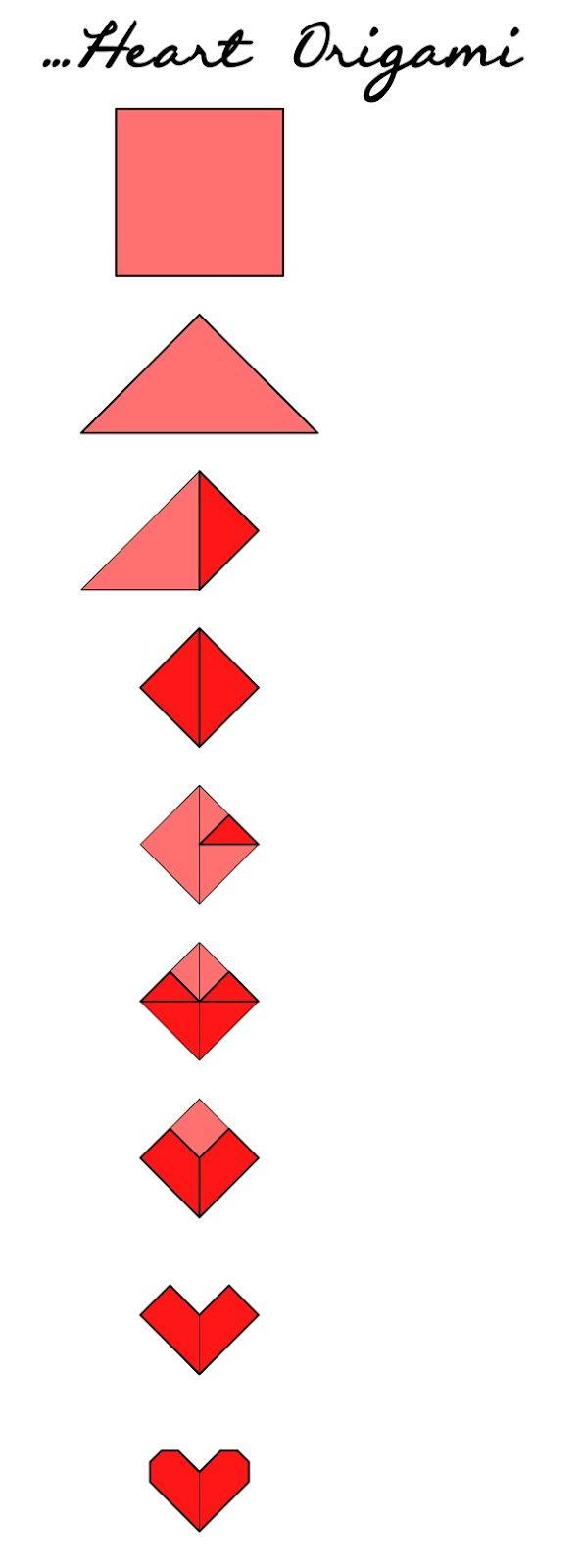 heart origami : )