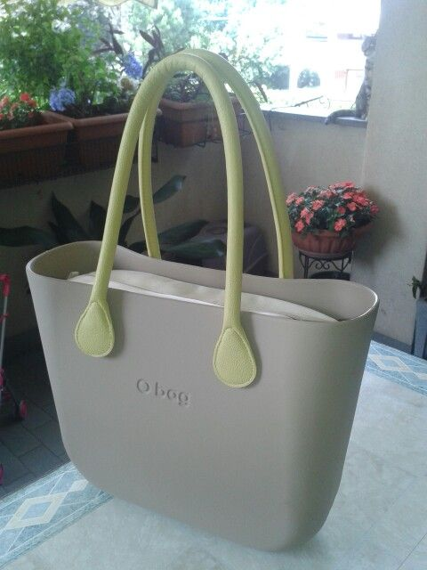 o bag fullspot sabbia+lime my bag