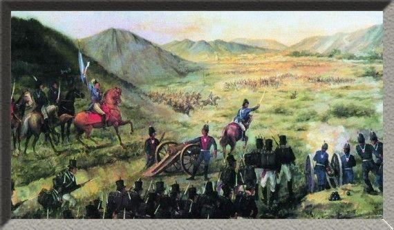 1813 - Batalla de Salta - Guerra independencia Hispanoamerica Guerra de Independencia de la Argentina -.La rendición de los realistas garantizó el control sobre buena parte de los territorios del antiguo Virreinato del Río de la Plata