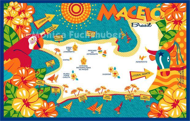 MACEIÓ - Mapa - Brasil