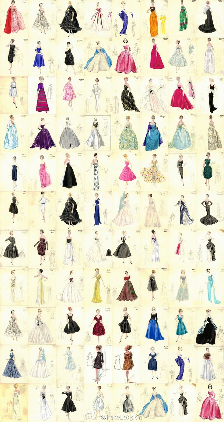 All Kinds of Skirts via duitang