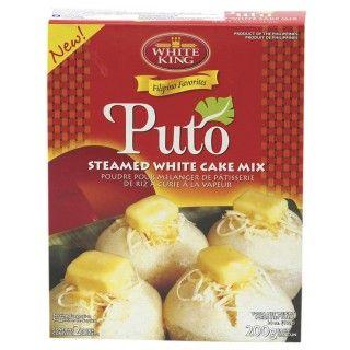 Knoedelsmix  Puto zijn een soort gistdeegballetjes van rijstmeel en een traditioneel Filipijns dessert. Meng de White King Knoedelsmix (Gistdeegballetjes) met water en suiker en serveer deze gestoomde deegballetjes met vers fruit, honing, kokoscrème of gesuikerde gecondenseerde melk. https://www.asianfoodlovers.nl/producten/desserts/knoedelsmix-gistdeegballetjes-400-gram