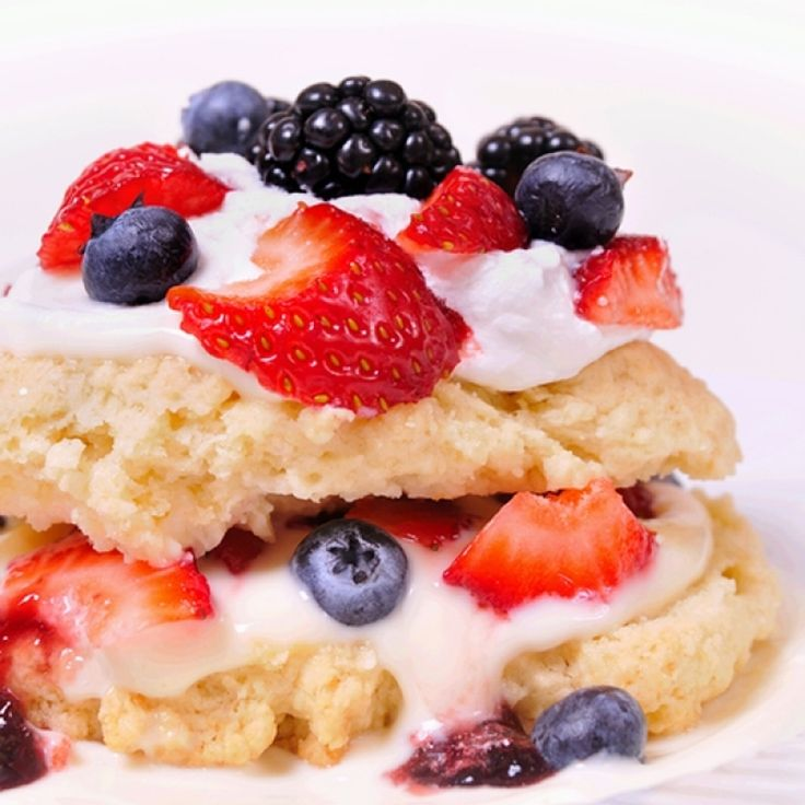 This old fashioned shortcake recipe is the best when fresh from the oven.. Old Fashioned Shortcake With Fruits and Whip Cream Recipe from Grandmothers Kitchen.