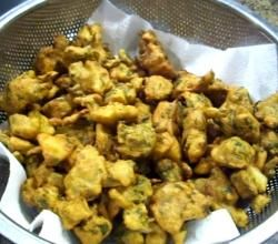 Indian Fritters / Pakora / Mixed Pakoras / Veg Pakoras Recipe Video by Eat East Indian   ifood.tv