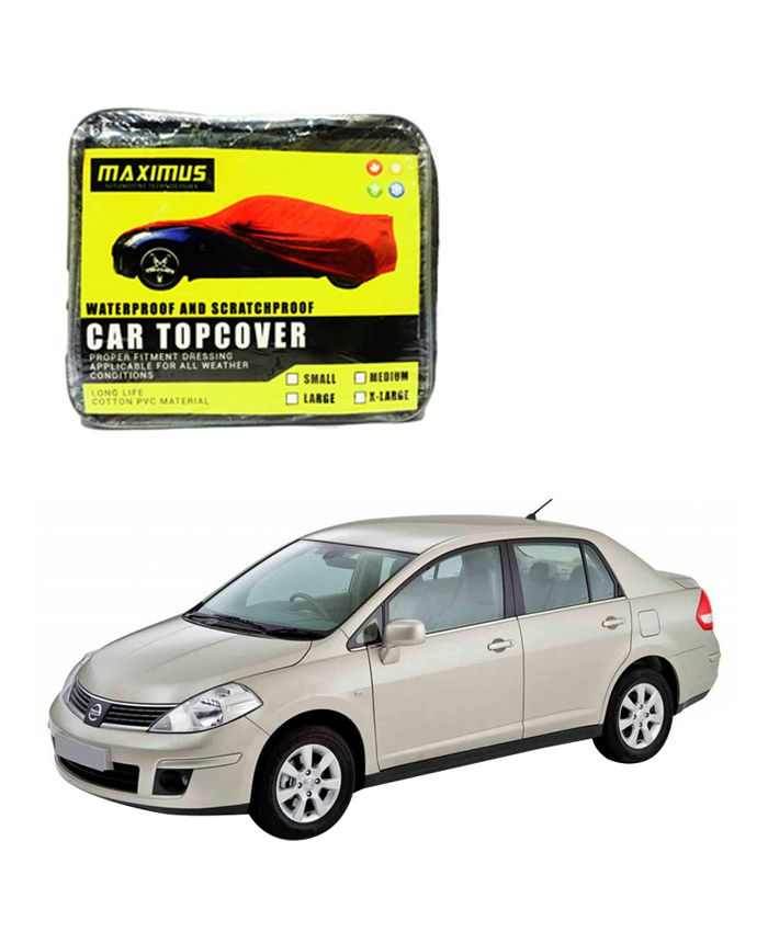 Nissan Tiida Maximus Non Woven Car Cover - Model 2004 - 2011  Delivery available worldwide.  Have a Question: +923111222357