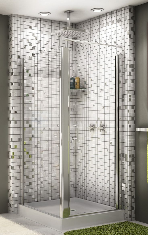 25 Best Ideas About Corner Shower Doors On Pinterest