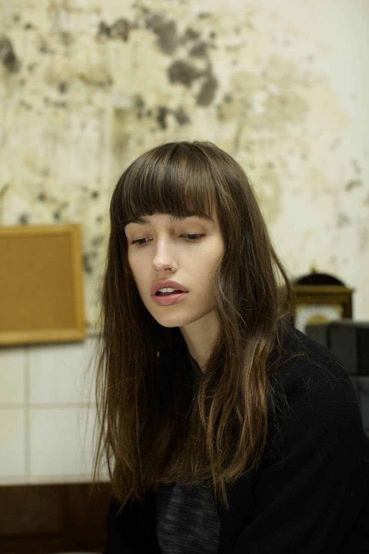 Gabby Dover--she's beautiful in a very normal yet exotic Parisian way...bellisima!
