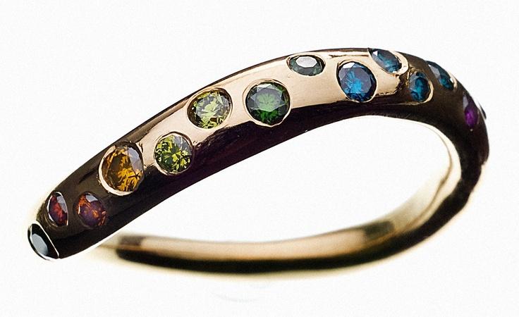 My beautyfull Chakra ring #chakra #chakraring #chakrajewellery #diamonds