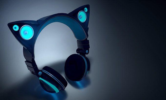 axentwear 1 可愛い!猫耳型のヘッドホンが登場!猫耳部分はスピーカーになってるぞ!