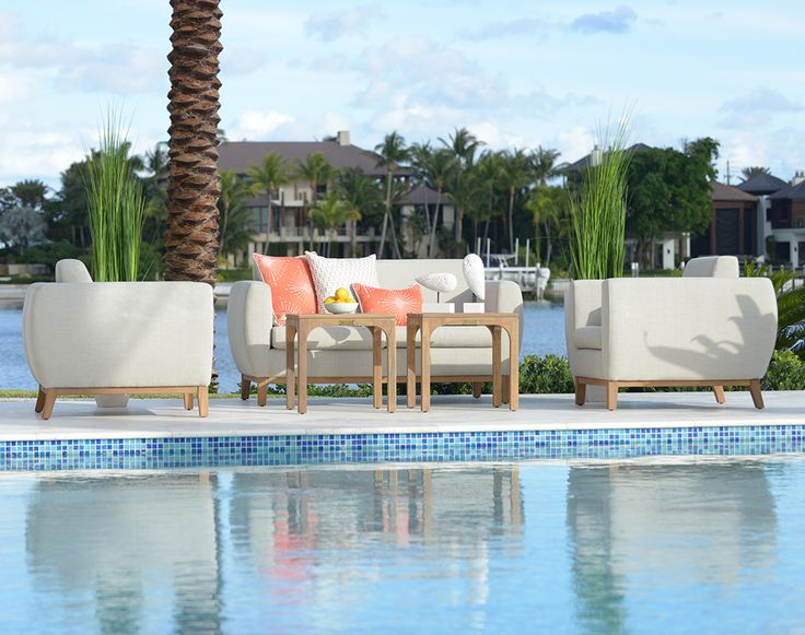 Hotel CHIC SoHo Collection Redefines Outdoor Furniture. Made Of  High Quality Teak And Upholstered