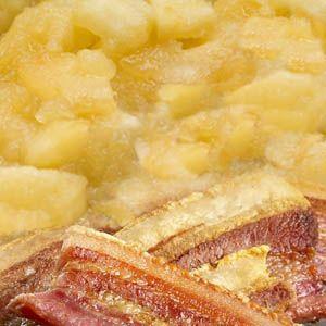 Æbleflæsk - en dansk klassiker med et lille twist