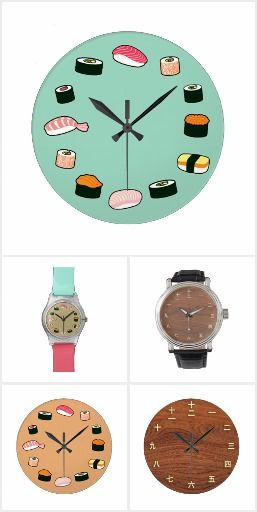 Japan themed clocks and watches