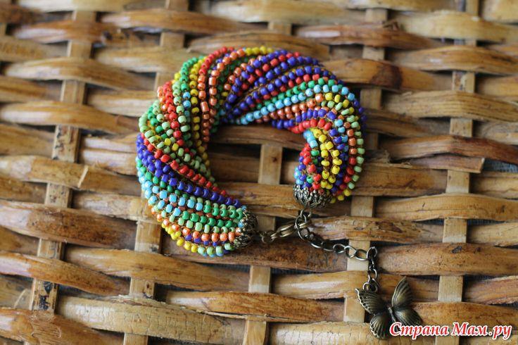 Вязаная бижутерия для девушек и дам.: Фото альбомы - Страна Мам  Bracelet