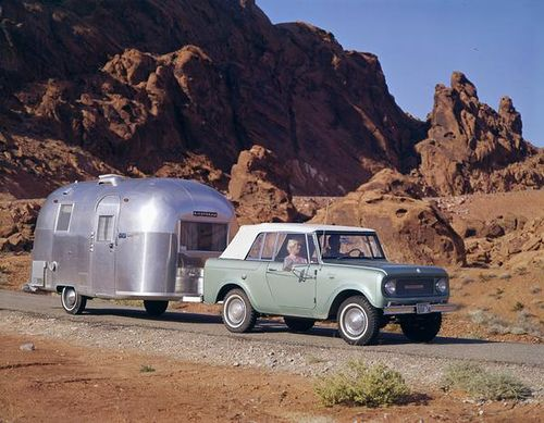 Dreaming of an airstream camper for the Scout {by Wisconsin Historical Images}