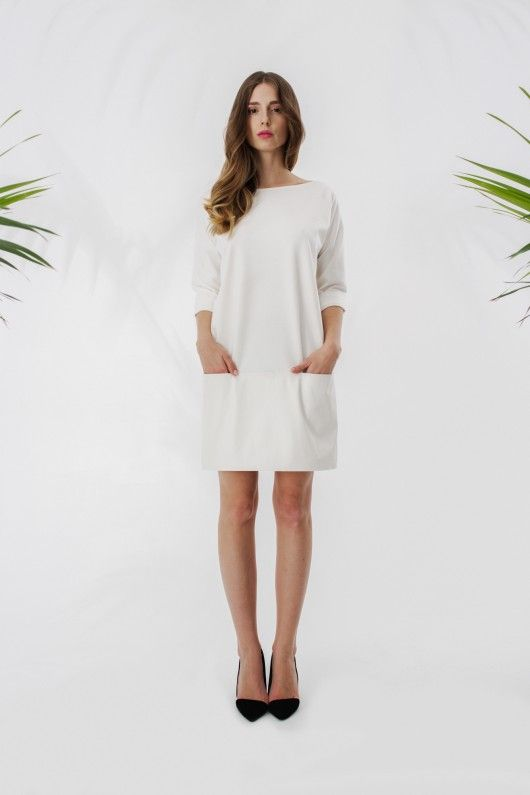Sukienka ze sk�łrzanym panelem