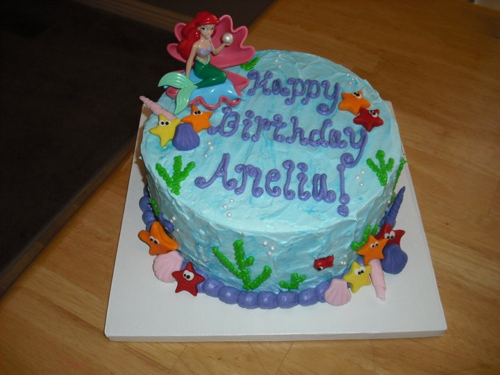 cake for Ariel Party